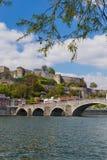 Ville Namur en Belgique photos libres de droits