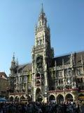ville neuve de Munich de hall de l'Allemagne Images libres de droits