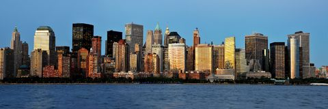 ville New York Photo stock