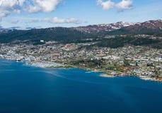 Ville norvégienne, Molde image libre de droits