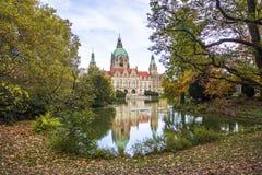 Ville nouvelle Hall à Hannovre, Allemagne photos stock