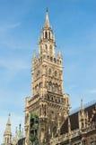 Ville nouvelle Hall Marienplatz de Munchen Photo libre de droits