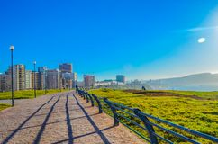 Ville Oran de paysage Photos libres de droits