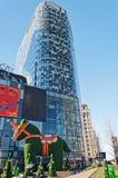 Ville Pékin de tombolas. Chine Photographie stock