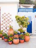 Ville paisible de loutro, Grèce Photos stock