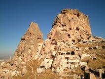 Ville perdue dans Cappadocia Image libre de droits