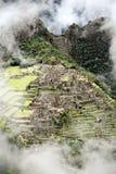 Ville perdue de Machu Picchu - le Pérou Image libre de droits