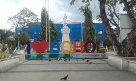 Ville Philippines de Bohol de découverte Image stock