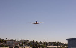 Ville plate d'atterrissage Photo libre de droits