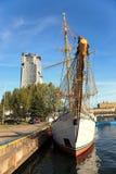 Ville portuaire de Gdynia Image stock