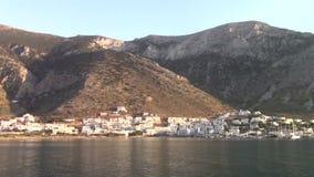 Ville principale de Sifnos banque de vidéos