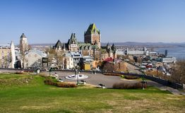 ville Québec photo stock
