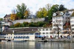 Ville riche et canton de ¼ de ZÃ en Suisse en Europe Photographie stock libre de droits