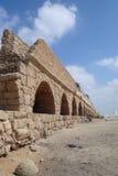 Ville romaine de Ceasarea Israël Photographie stock libre de droits