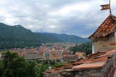 ville Roumanie de brasov Images stock