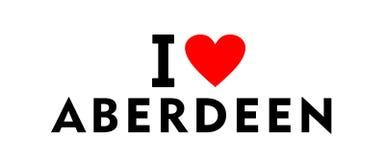 Ville Royaume-Uni d'Aberdeen Photo libre de droits