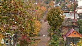 Ville russe antique d'Urzhum banque de vidéos