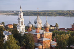 Ville russe antique de Kostroma Photo libre de droits