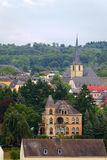 Ville Saarburg Images stock