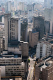 Ville Sao Paulo de fond d'architecture Photo stock