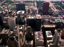 Ville Scape #2 de Chicago photo libre de droits