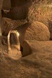 Ville souterraine d'Ozkonak Photo stock