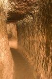 Ville souterraine d'Ozkonak Photographie stock libre de droits