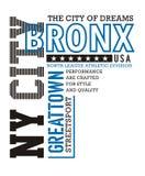 Ville sportive Bronx de NY Photo stock