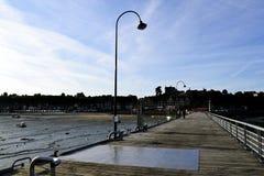 Ville sur la mer Image stock