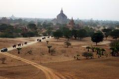 Ville Taw-principale de Nay Pyi de Birt Photographie stock libre de droits