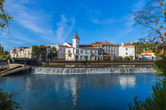 Ville Tomar - Portugal photographie stock