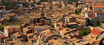 Ville de Cardona, Espagne Photo libre de droits