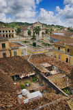 Ville tropicale Trinidad, Cuba Photo libre de droits