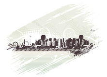 Ville urbaine Photos libres de droits