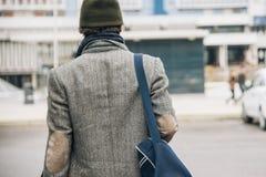 Ville urbaine d'homme Photographie stock