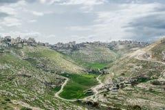 Ville verte de l'Israël Photo stock