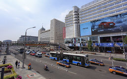 Ville vibrante de Pékin, Chine Images stock