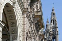 ville Vienne de hall Image libre de droits