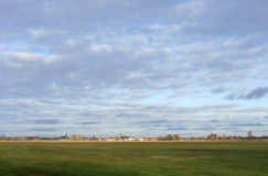 Ville Wittenberge d'Elbe Photo libre de droits