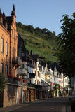 Ville Zell, Allemagne Photographie stock