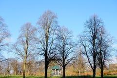 Villebrådet parkerar i Shrewsbury, England fotografering för bildbyråer