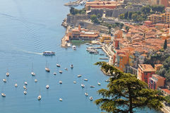 Villefranche Bay Royalty Free Stock Image