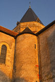 Villefranche church Stock Image