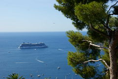 Villefranche Cruise Stock Photography