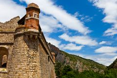 Villefranche de Conflent - Fort Liberia Royalty Free Stock Photo