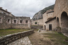 Villefranche de Conflent,Occitanie,France. Royalty Free Stock Photography