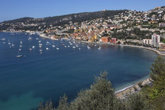 Villefranche - French Riviera - South of France Stock Photo