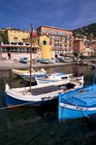 Villefranche harbour in France Stock Photography
