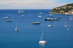 Villefranche-s-Mer Royalty Free Stock Images