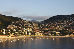 Villefranche Sunrise Royalty Free Stock Photos